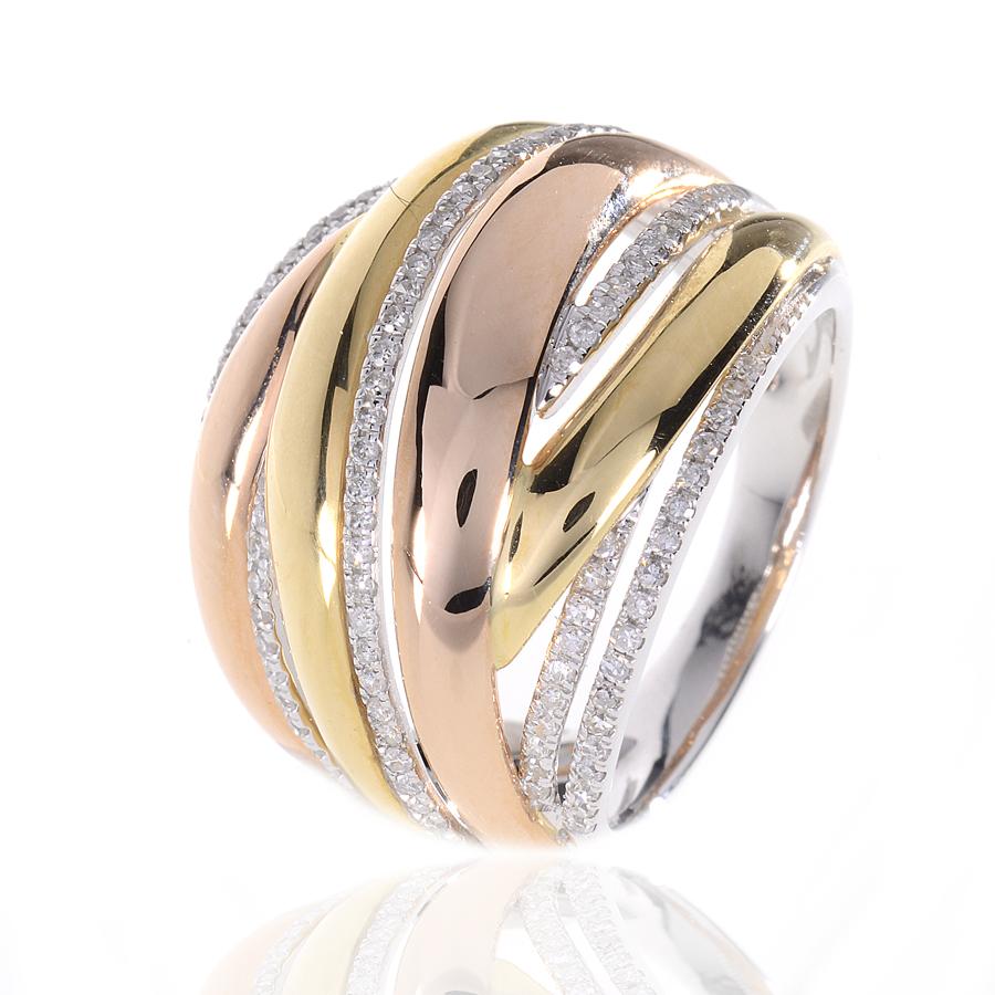 duhalde diamants bijoutier biarritz bayonne bague 3 ors et diamants p2759. Black Bedroom Furniture Sets. Home Design Ideas
